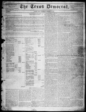 Primary view of object titled 'The Texas Democrat (Austin, Tex.), Vol. 1, No. 51, Ed. 1, Wednesday, December 23, 1846'.