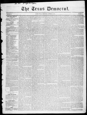 Primary view of The Texas Democrat (Austin, Tex.), Vol. 3, No. 50, Ed. 1, Wednesday, October 11, 1848