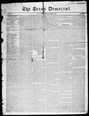 Primary view of The Texas Democrat (Austin, Tex.), Vol. 3, No. 51, Ed. 1, Wednesday, October 18, 1848