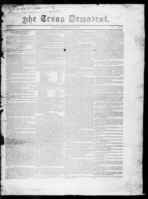 Primary view of object titled 'The Texas Democrat (Austin, Tex.), Vol. 1, No. 22, Ed. 1, Saturday, June 23, 1849'.