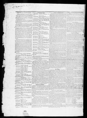 Primary view of object titled 'The Texas Democrat (Austin, Tex.), Vol. 1, No. 30, Ed. 1, Saturday, August 18, 1849'.