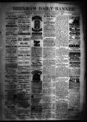 Primary view of Brenham Daily Banner. (Brenham, Tex.), Vol. 11, No. 190, Ed. 1 Sunday, December 5, 1886