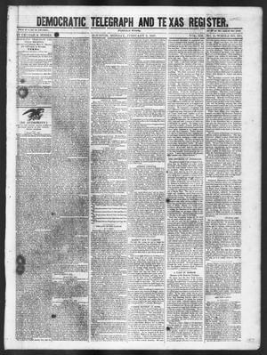 Democratic Telegraph and Texas Register (Houston, Tex.), Vol. 12, No. 6, Ed. 1, Monday, February 8, 1847