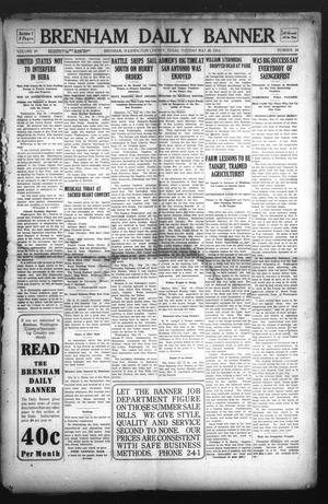 Primary view of object titled 'Brenham Daily Banner (Brenham, Tex.), Vol. 29, No. 54, Ed. 1 Tuesday, May 28, 1912'.