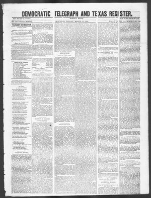 Democratic Telegraph and Texas Register. (Houston, Tex.), Vol. 16, No. 11, Ed. 1, Friday, March 14, 1851
