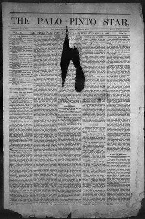 Primary view of object titled 'The Palo Pinto Star (Palo Pinto, Tex.), Vol. 6, No. 38, Ed. 1, Saturday, March 7, 1885'.