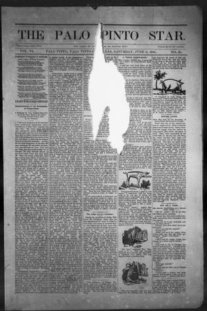 Primary view of object titled 'The Palo Pinto Star (Palo Pinto, Tex.), Vol. 6, No. 51, Ed. 1, Saturday, June 6, 1885'.