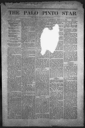The Palo Pinto Star (Palo Pinto, Tex.), Vol. 7, No. 8, Ed. 1, Saturday, August 8, 1885
