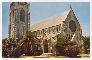 Primary view of object titled '[Grace Episcopal Church Photograph #1]'.