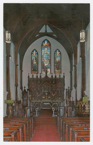 Primary view of object titled '[Grace Episcopal Church Photograph #2]'.