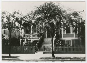 Primary view of object titled '[Frederich-Erhard House Photograph #1]'.