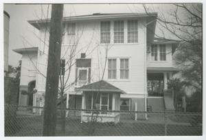 Primary view of object titled '[Adriance-Springer House Photograph #4]'.
