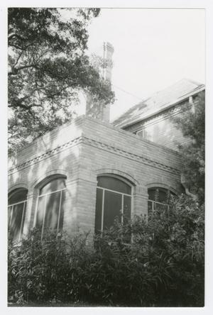 Primary view of object titled '[Cecil and Frances Brown House Photograph #1]'.