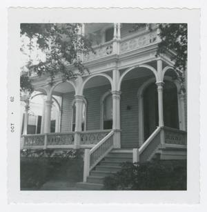 Primary view of object titled '[Campbell Home Photograph #1]'.