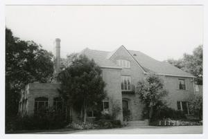 Primary view of object titled '[Cecil and Frances Brown House Photograph #3]'.