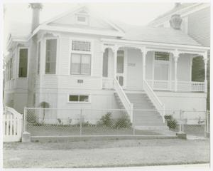 Primary view of object titled '[A. Wilkins Miller Cottage Photograph #1]'.