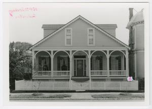 Primary view of object titled '[John and Eliza Hertford House Photograph #5]'.