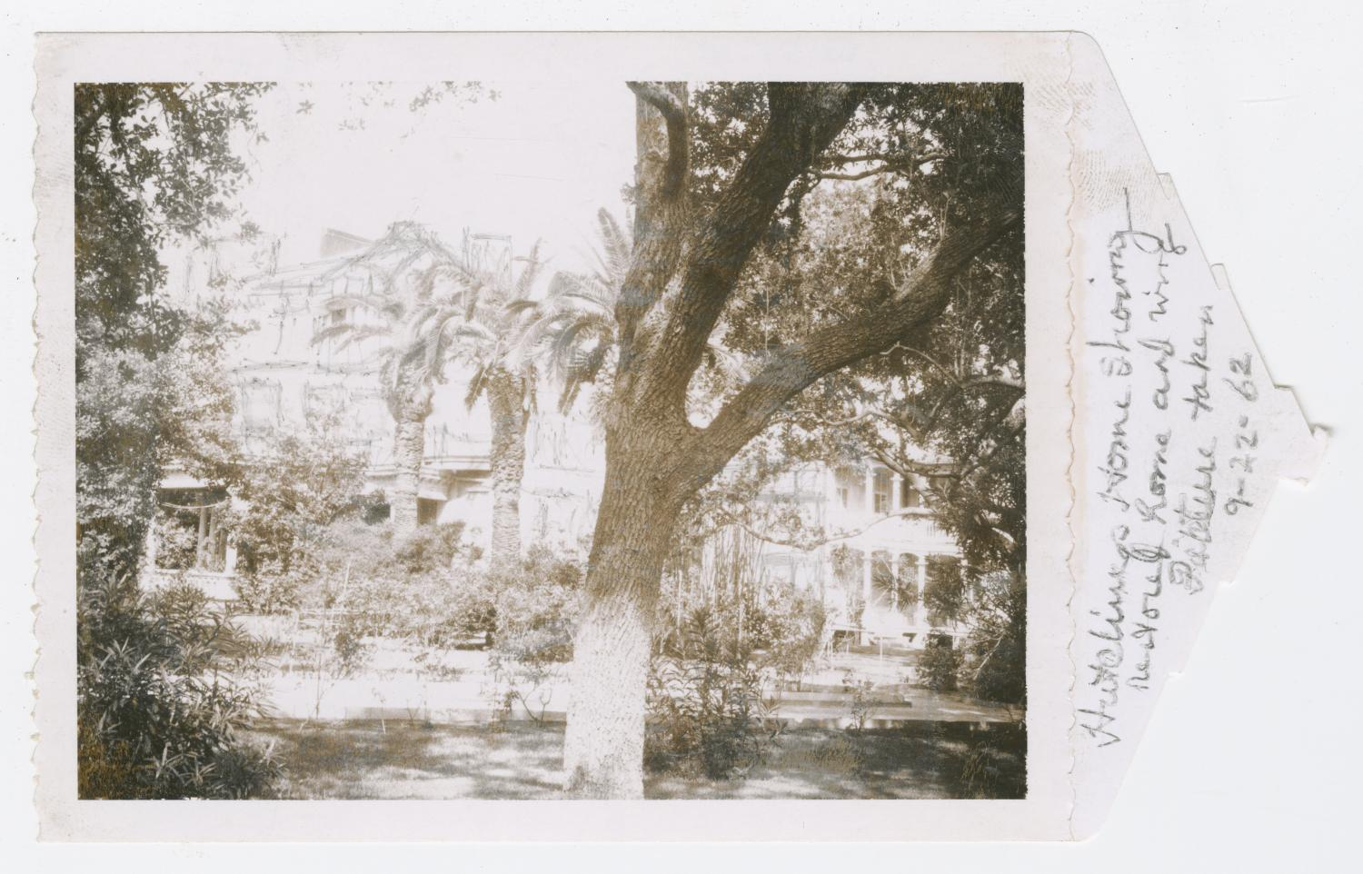 [Hutchings House Photograph #1]                                                                                                      [Sequence #]: 1 of 2