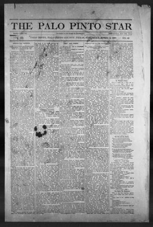 Primary view of object titled 'The Palo Pinto Star (Palo Pinto, Tex.), Vol. 3, No. 43, Ed. 1, Saturday, April 2, 1887'.