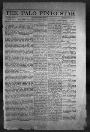 The Palo Pinto Star (Palo Pinto, Tex.), Vol. 3, No. 47, Ed. 1, Saturday, April 30, 1887