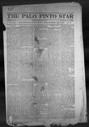 The Palo Pinto Star (Palo Pinto, Tex.), Vol. 3, No. 48, Ed. 1, Saturday, May 7, 1887