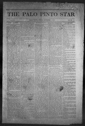 Primary view of object titled 'The Palo Pinto Star (Palo Pinto, Tex.), Vol. 12, No. 17, Ed. 1, Saturday, October 1, 1887'.