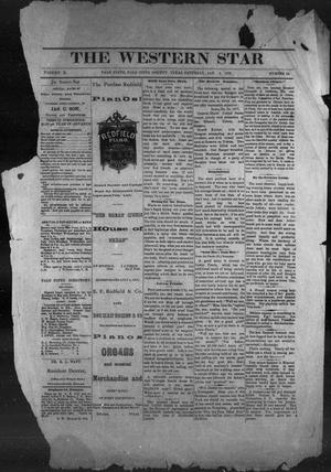 The Western Star (Palo Pinto, Tex.), Vol. 2, No. 28, Ed. 1, Saturday, January 5, 1878