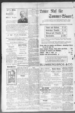 3dcd5d507e41 Seguin Zeitung. (Seguin, Tex.), Vol. 10, No. 52, Ed. 1 Thursday ...