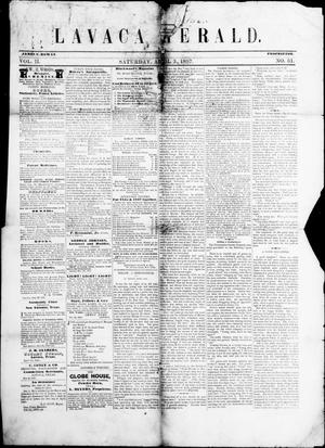 Lavaca Herald (Port Lavaca, Tex.), Vol. 2, No. 51, Ed. 1, Friday, April 3, 1857