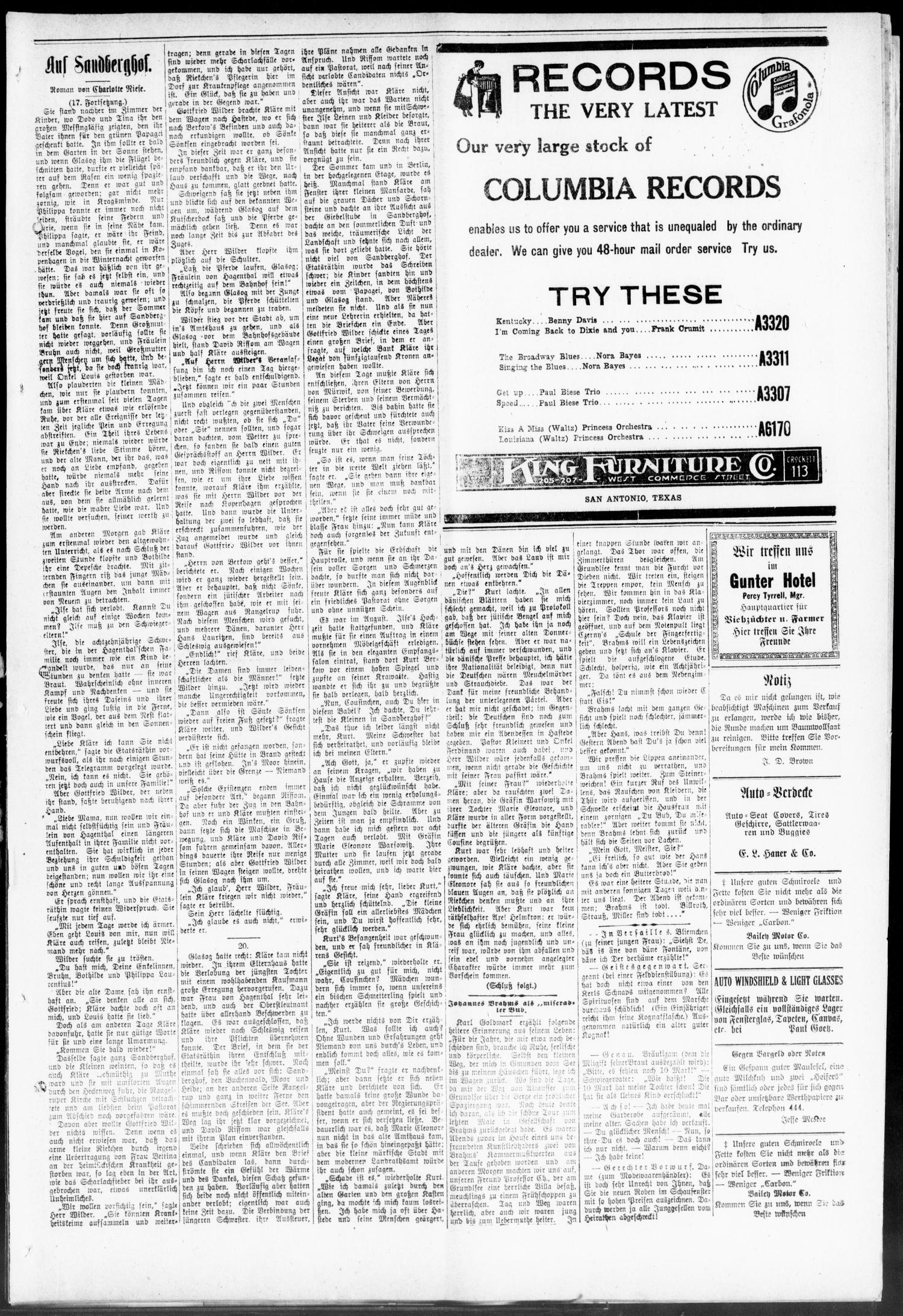 Seguiner Zeitung. (Seguin, Tex.), Vol. 30, No. 19, Ed. 1 Friday ...