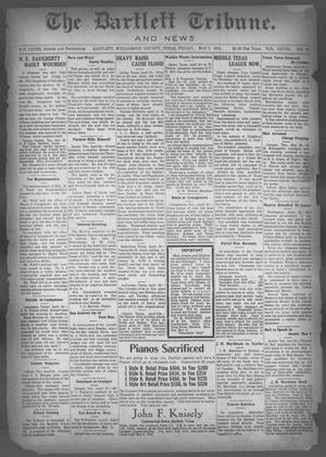 Primary view of object titled 'The Bartlett Tribune and News (Bartlett, Tex.), Vol. 28, No. 40, Ed. 1, Friday, May 1, 1914'.