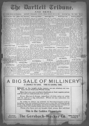 Primary view of object titled 'The Bartlett Tribune and News (Bartlett, Tex.), Vol. 29, No. 12, Ed. 1, Friday, October 16, 1914'.