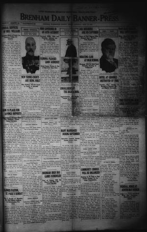 Primary view of object titled 'Brenham Daily Banner-Press (Brenham, Tex.), Vol. 33, No. 158, Ed. 1 Saturday, September 30, 1916'.