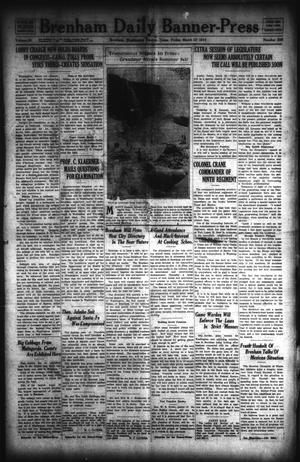 Primary view of object titled 'Brenham Daily Banner-Press (Brenham, Tex.), Vol. 30, No. 296, Ed. 1 Friday, March 13, 1914'.