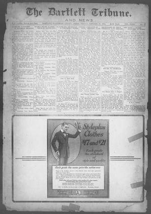 Primary view of object titled 'The Bartlett Tribune and News (Bartlett, Tex.), Vol. 32, No. 32, Ed. 1, Friday, January 18, 1918'.