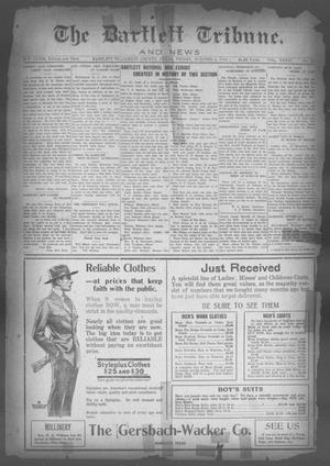Primary view of object titled 'The Bartlett Tribune and News (Bartlett, Tex.), Vol. 33, No. 17, Ed. 1, Friday, October 4, 1918'.