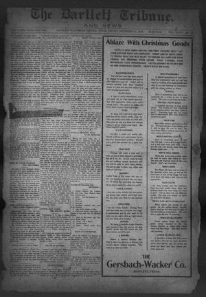 Primary view of object titled 'The Bartlett Tribune and News (Bartlett, Tex.), Vol. 34, No. 26, Ed. 1, Friday, December 12, 1919'.