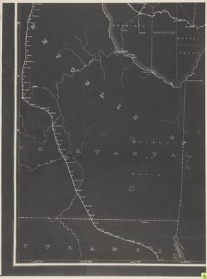 Primary view of object titled 'Post Route Map of the State of Texas with Adjacent Parts of Louisiana, Arkansas, Indian Territory and the Republic of Mexico 1889 (5).'.