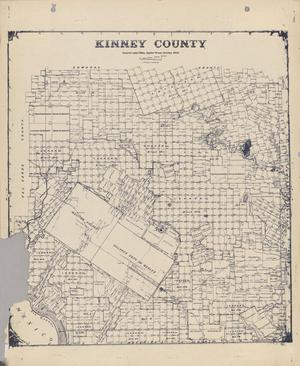 Primary view of object titled 'Kinney County'.