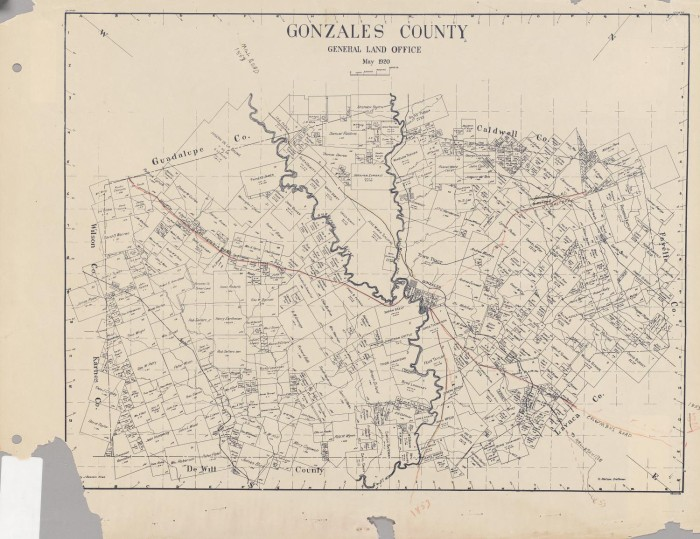 Gonzales County - The Portal to Texas History on natchitoches tx map, lafayette tx map, hood tx map, port oconnor tx map, louisiana tx map, hudspeth tx map, seaside tx map, harris co tx map, rains tx map, holly beach tx map, refugio tx map, niederwald tx map, reeves tx map, san patricio tx map, monterey tx map, woodward tx map, shavano tx map, bossier tx map, victoria tx map, pineville tx map,