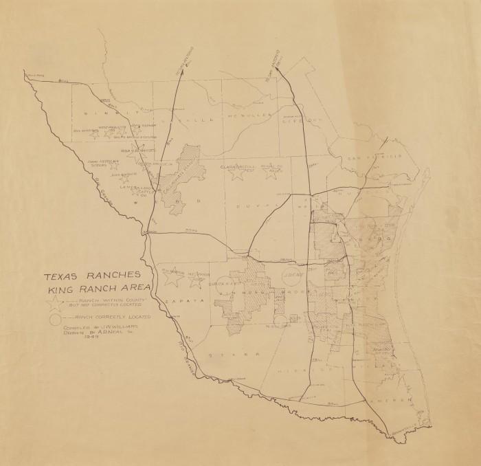 Texas Ranches King Ranch Area - The Portal to Texas History on rust map, aurora colorado map, txu coverage map, dealey plaza map, park map, texas map, michaelis ranch, ja ranch, la escalera ranch, xit ranch, a. s. gage ranch, ted turner property map, sahara map, southfork ranch, pitchfork ranch, sam houston state university map, gahanna ohio map, lightning map, budapest map, corpus christi international airport map, allen ranch, matador ranch, heat map,