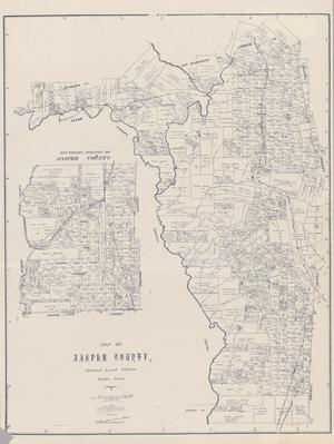Primary view of Map of Jasper County
