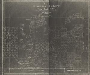 Primary view of object titled 'Map of Haskell County, Young Land District'.