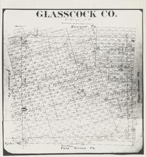 Primary view of object titled 'Glasscock Co.'.