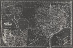 Primary view of object titled 'Richardson's New Map of the State of Texas'.