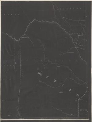 Primary view of object titled 'Post Route Map of the State of Texas with Adjacent Parts of Louisiana, Arkansas, Indian Territory and of the Republic of Mexico 1881 (5).'.