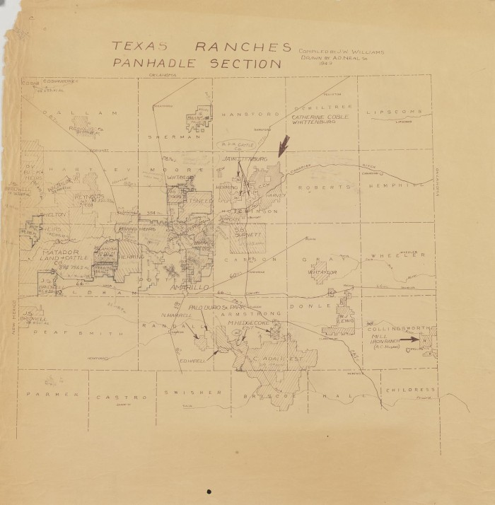 Texas Ranches Panhandle Section - The Portal to Texas History