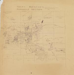Primary view of object titled 'Texas Ranches Panhandle Section'.