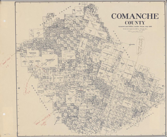 Comanche County The Portal To Texas History