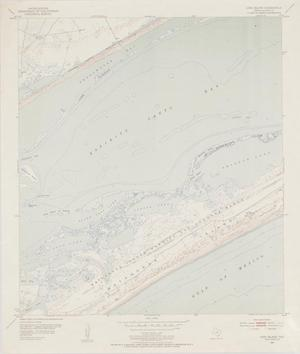Primary view of object titled 'Long Island Quadrangle: Texas--Calhoun Co.'.